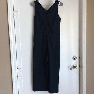 Banana Republic Jumpsuit, Navy, Size 2